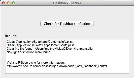 Flashback: App spürt Trojaner mit einem Mausklick auf