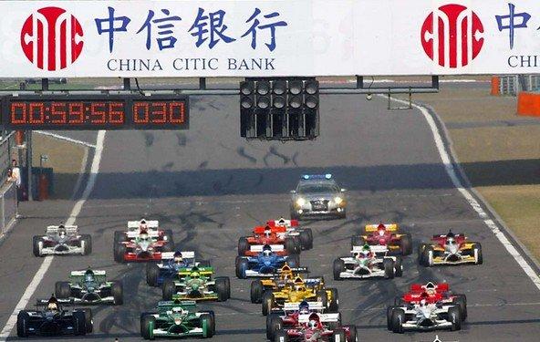 Formel-1 im Live-Stream - das Rennen in Shanghai online sehen!