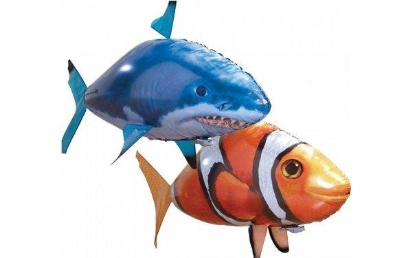 Fliegende Helium-Fische mit Fernsteuerung für 19,95 Euro bei getgoods