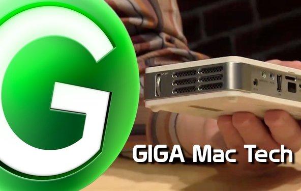 GIGA Mac Tech Folge 4: Apple TV, Qumi Pocket-Beamer und iPad