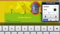 iPhone- und iPad-Apps: Mails für Ostergrüße erstellen