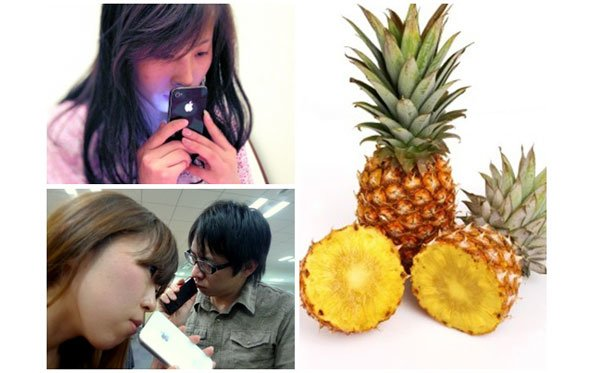 Ananas, Pfirsich und sogar Apfel: iPhone-Schnüffeln im Fernen Osten