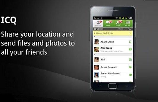 ICQ für Android: Update mit Bildversand-Funktion erschienen