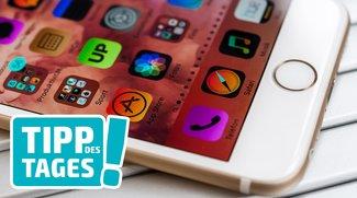 iPhone-Tipp: Weiß auf Schwarz lesen