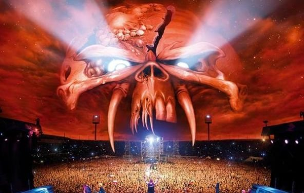 """Iron Maiden: Live-Album """"En Vivo! Live In Santiago De Chile"""" höchster Charts-Neueinsteiger, Hörprobe"""