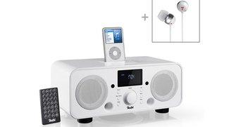 iTeufel Radio v2 mit iPod-Dock inkl In-Ears für 189,99 statt 280 Euro