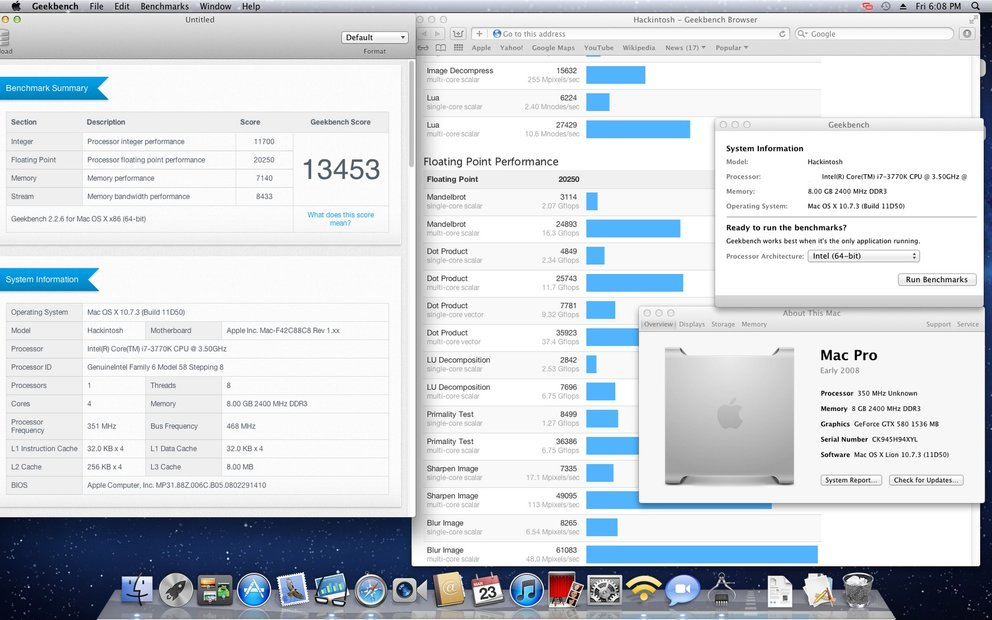 Benchmark: Ivy-Bridge-Hackintosh schlägt alle Quad-Core-Macs