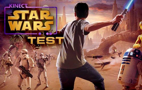 Kinect Star Wars Test - Aber ich will nicht der Controller sein!