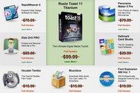 Nur noch heute: Mac SuperBundle mit Roxio Toast 11 und RapidWeaver 5