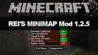 Minecraft: Rei's Minimap Mod 1.2.5