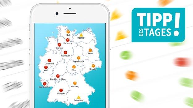 Pollenflug-Apps: Vorhersagen für iPhone und Android-Smartphones
