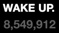 Samsung-Flashmob vor Apple Store: Aufwachen!