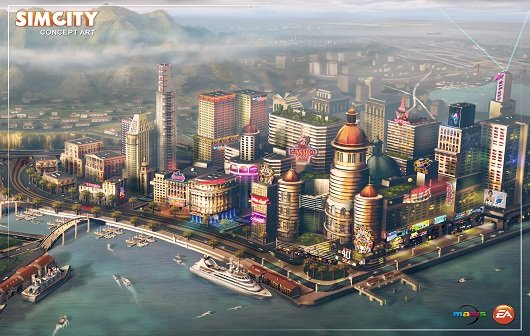 SimCity: Gamescom Trailer zeigt die SimCity World