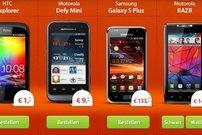 Smartphones ab 1 Euro mit 2 Verträgen für effektive 0,00 Euro