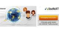 UseNeXT 4 Monate kostenlos testen mit bis zu 2.400 GB Traffic-Volumen