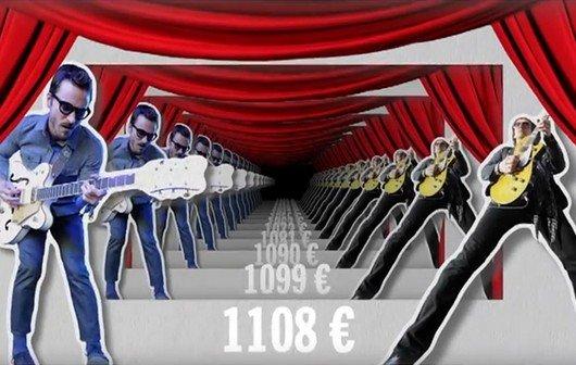 Was erfolgreiche Musiker verdienen: etwa 1700 brutto