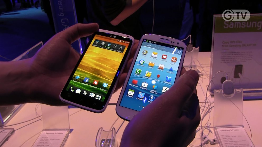 Samsung Galaxy S3 vs. HTC One X