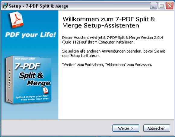 7-PDF Split and Merge