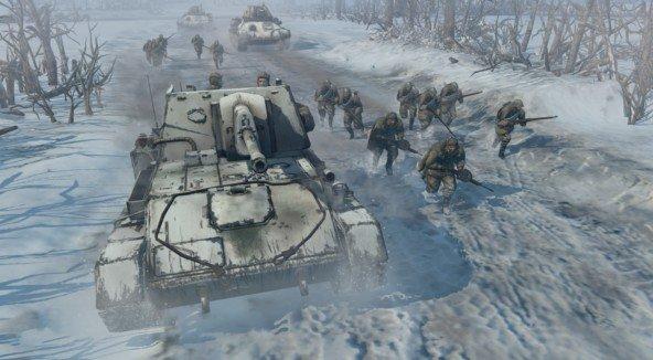 Company of Heroes 2: Gameplay-Szenen sind im Anmarsch