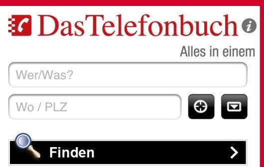 Telefonbuch Rückwärts
