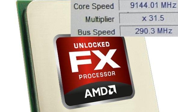 Overclocker treiben AMD FX8150 erstmals über 9GHz