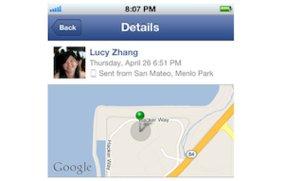 Facebook Messenger mit Standort und Lesebestätigung