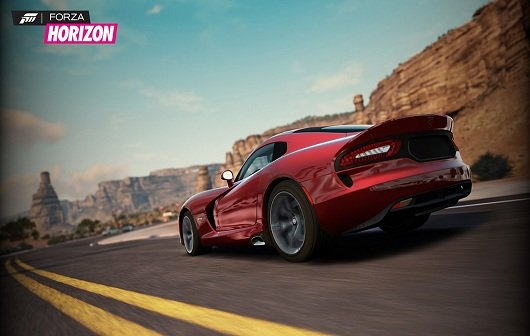 Forza Horizon: Screenshot und Boxart zum Forza Spin-Off