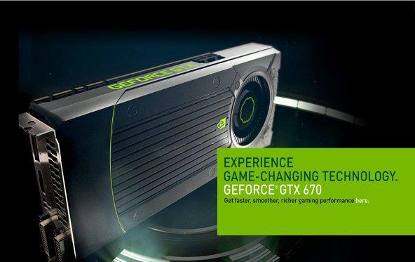 NVIDIA Geforce GTX 670 hebt Messlatte für Mittelklasse-Grafikkarten deutlich