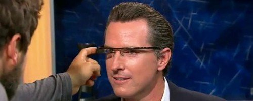 Google Glasses Touchpad Demonstration