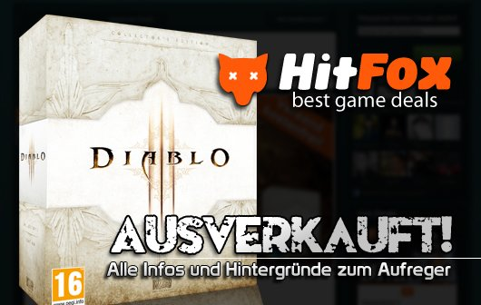Diablo 3 Lieferprobleme - Hitfox CEO Jan Beckers nimmt Stellung