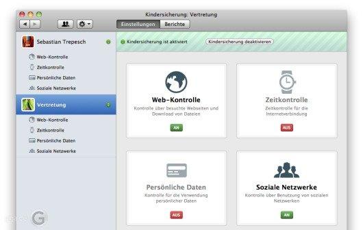 Mac-Sicherheitslösung als Spionage-Tool: Die Kindersicherung