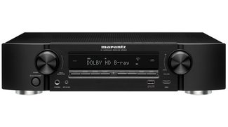 Marantz NR1603: Flacher AV-Receiver mit AirPlay-Funktion
