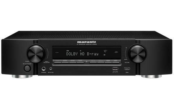Marantz NR1603: Flacher AV-Receiver mit AirPlay-Funktion