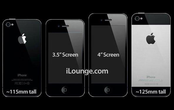 Neues iPhone: 4-Zoll-Display laut WSJ (Update: Reuters legt nach)