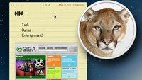 """Apple kündigt """"Hardware-spezifische Neuerungen"""" für Mountain Lion an"""