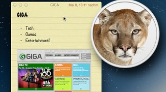 OS X 10.8 Mountain Lion: Folge 4 - Notizen