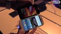 Samsung Galaxy S3 vs Nokia Lumia 800 / Sony Xperia S / LG Optimus 3D MAX
