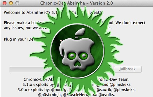 Absinthe 2.0: Untethered iOS 5.1.1 Jailbreak für alle Geräte veröffentlicht
