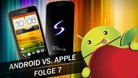 Android vs. Apple: Samsung Galaxy S3, HTC One X und Wimp