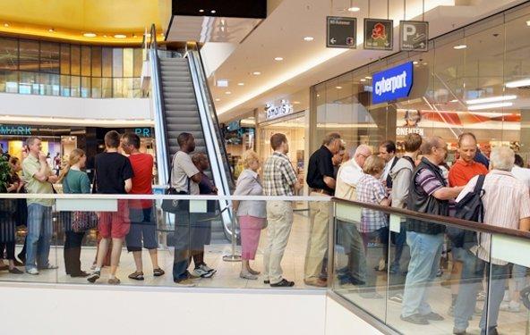 Cyberport: Store-Eröffnung in Dortmund