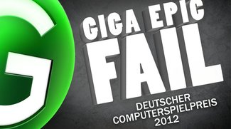 GIGA Epic Fail - Deutscher Computerspielpreis 2012