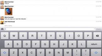 Facebook: Messenger-App für iPad - iPhone-App bald mit Videochat