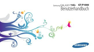 Samsung Galaxy Tab - Handbuch
