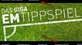 So funktioniert das GIGA-EM-Tippspiel - die Kurz-Anleitung
