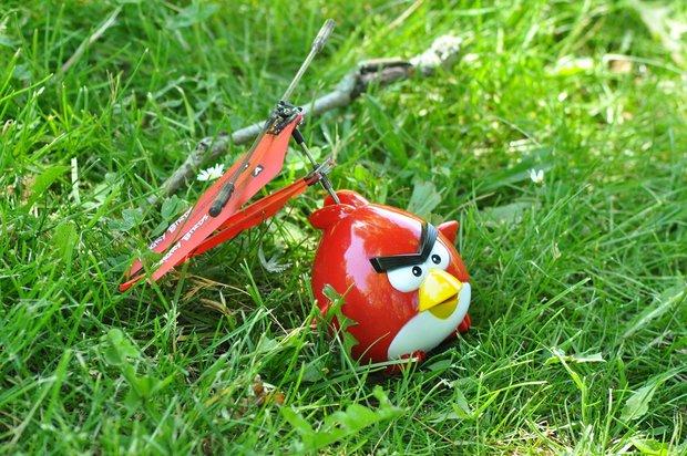 Der Angry Birds-Helikopter im kurzen Hands-On