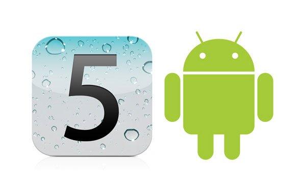 iOS-Nutzung wächst schneller als Android, höherer Anteil im Web