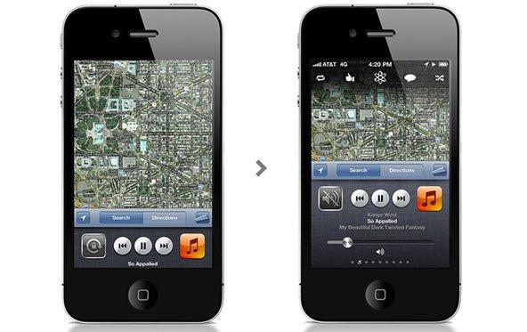 Frische Ideen: Überarbeitete Multitasking-Leiste für das iPhone
