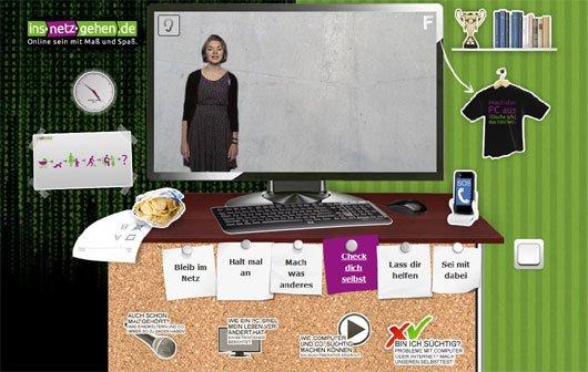 Games- und Internet-Sucht: Interaktiver Selbsttest von der BZgA