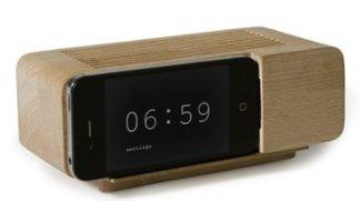 iPhone-Dock aus Holz von areaware für 35 statt 45 Euro