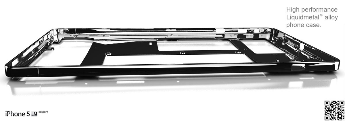 iPhone 5 in LiquidMetal sieht gut aus – GIGA